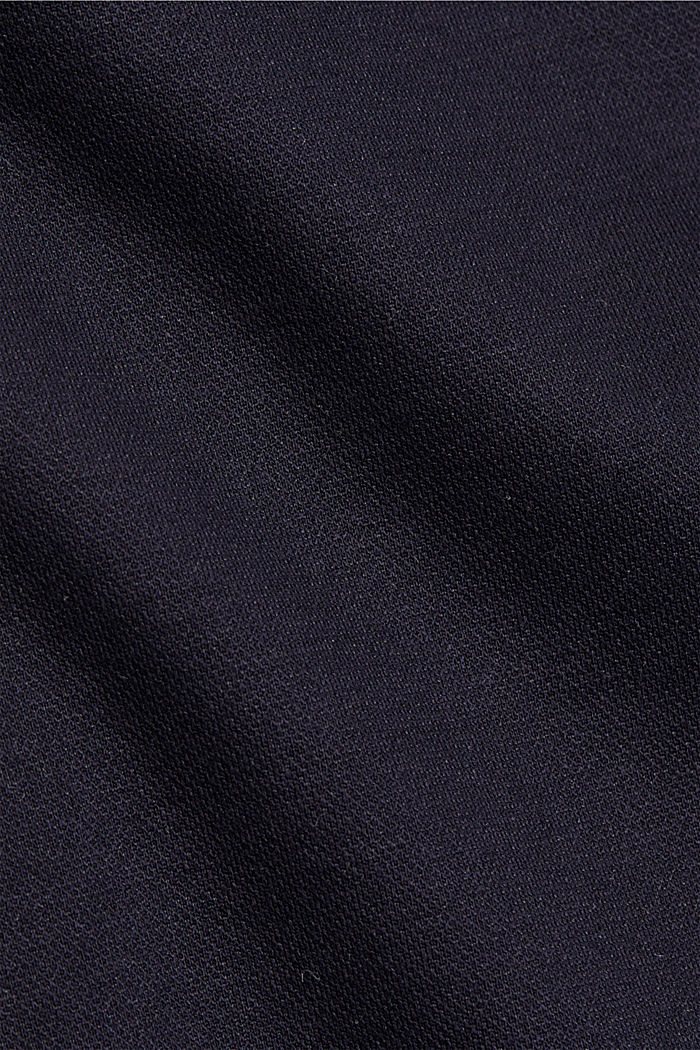 Stretch trousers with an elasticated waistband, DARK BLUE, detail image number 4