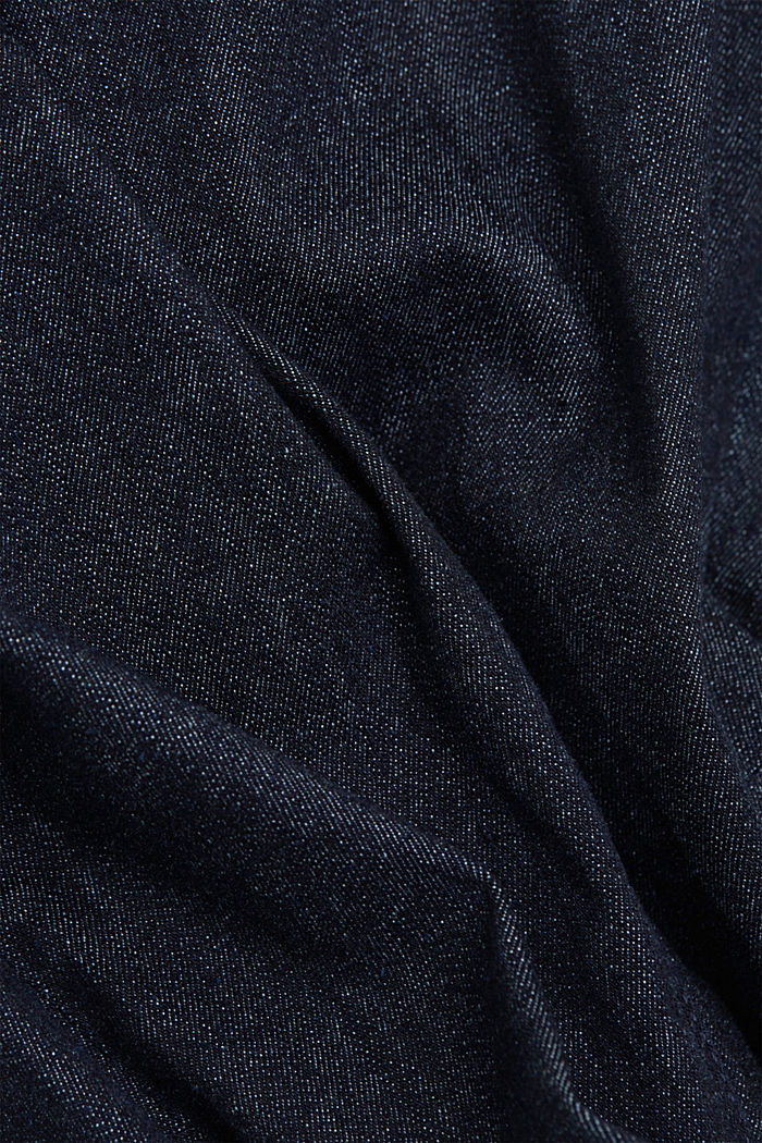 Organic cotton blend jeggings, BLUE RINSE, detail image number 4