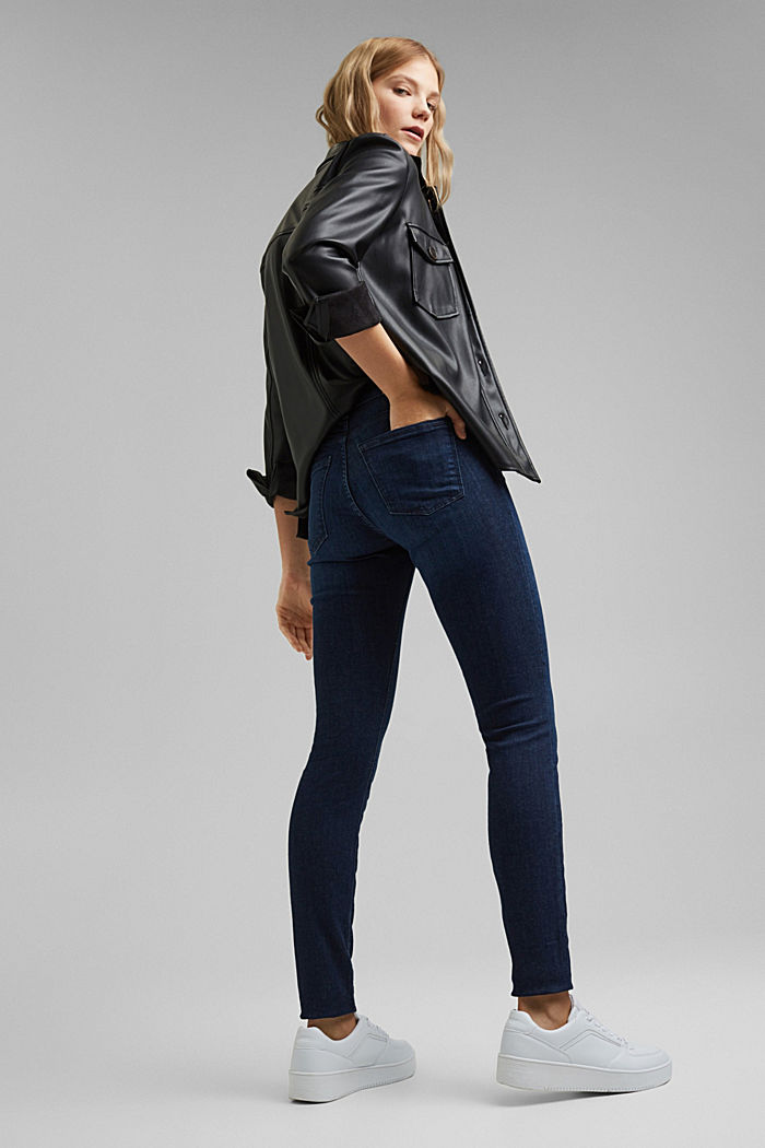 Jeggings mit Organic Cotton, BLUE DARK WASHED, detail image number 3