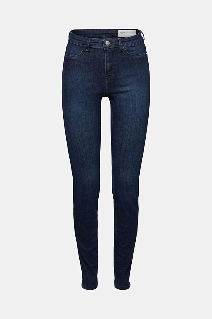 Jeggings mit Organic Cotton, BLUE DARK WASHED, detail image number 7