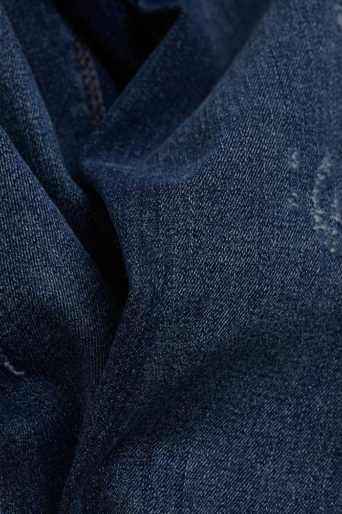 Organic cotton blend jeggings, BLUE MEDIUM WASHED, detail image number 4