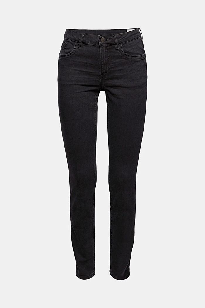 Strečové džíny ze směsi s bio bavlnou