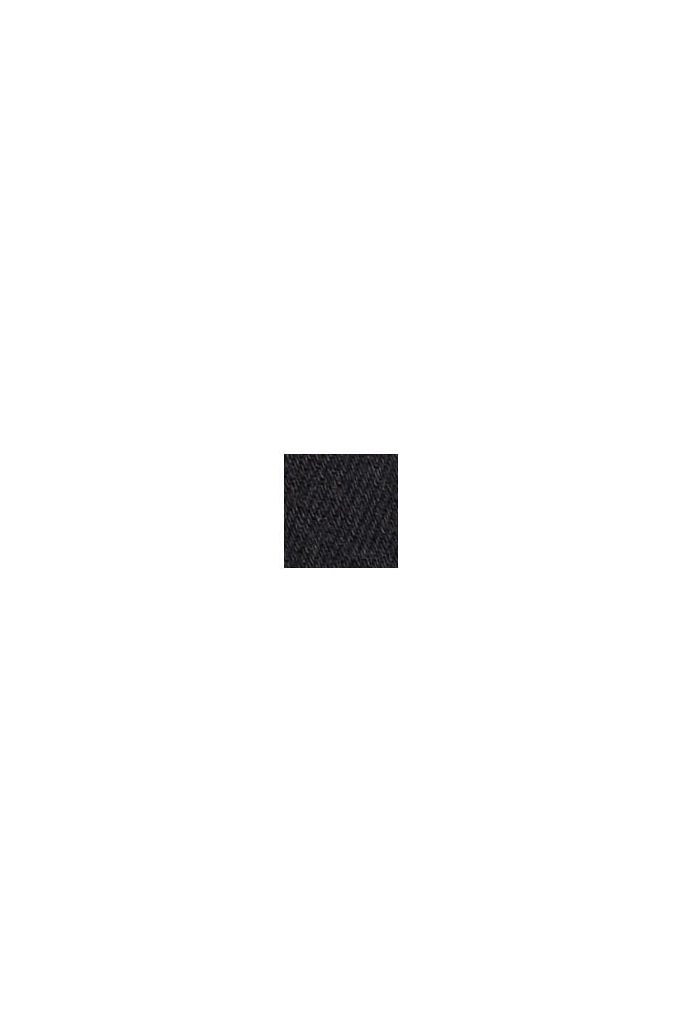Strečové džíny ze směsi s bio bavlnou, BLACK DARK WASHED, swatch