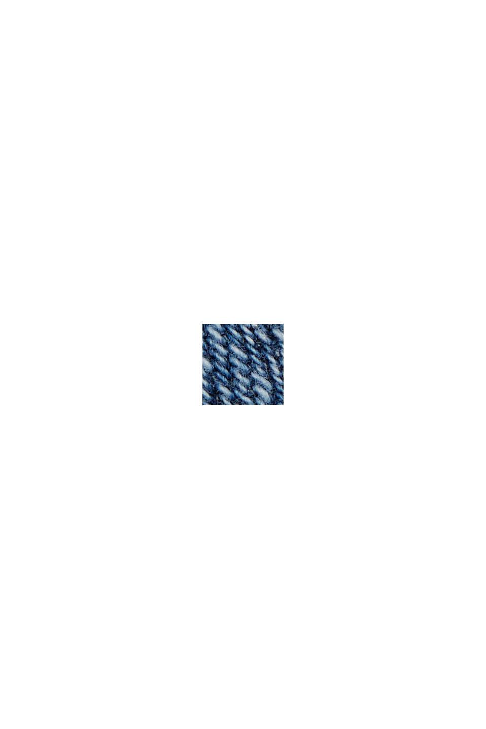 Jean corsaire en coton biologique, BLUE MEDIUM WASHED, swatch