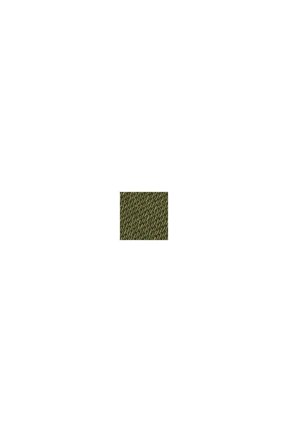 Capribroek van biologisch katoen, KHAKI GREEN, swatch
