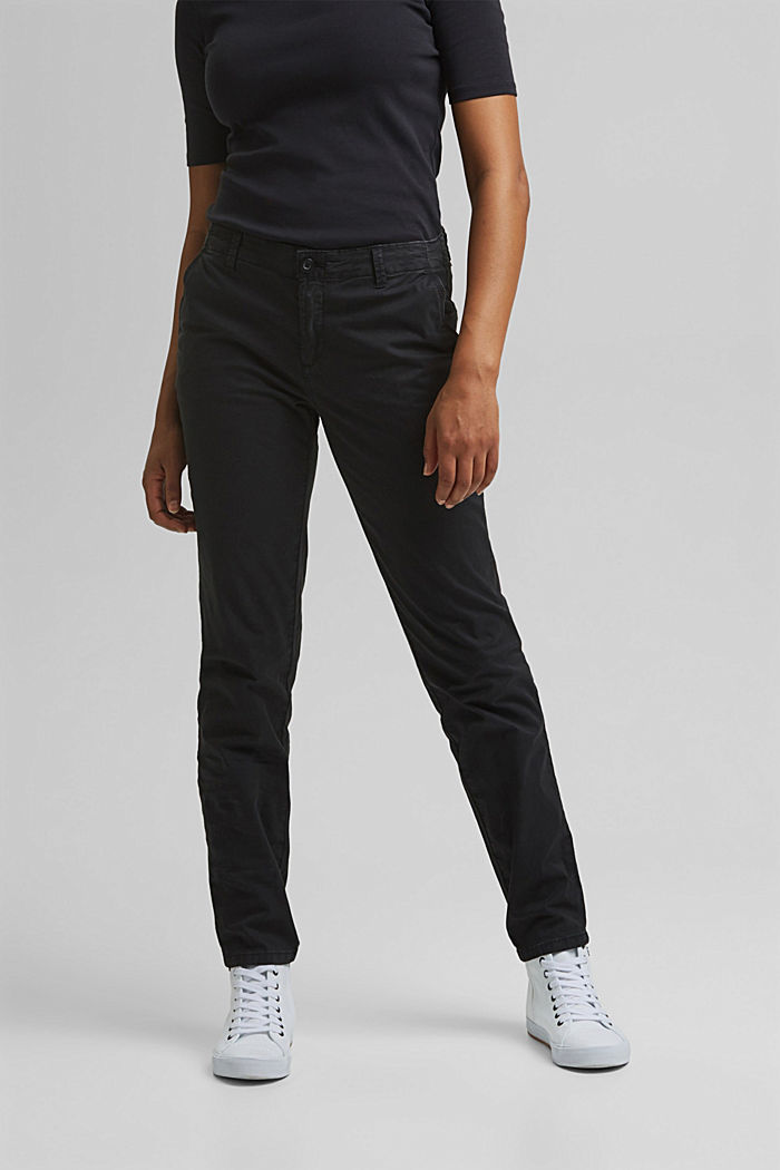 Trousers, BLACK, detail image number 0
