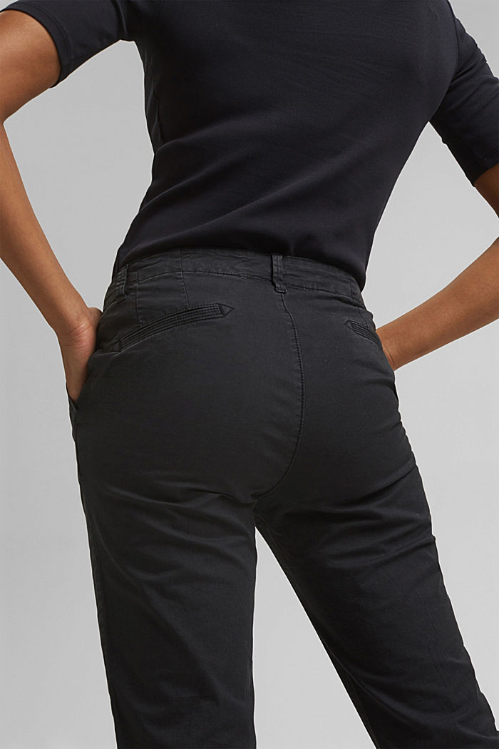 Trousers, BLACK, detail image number 5