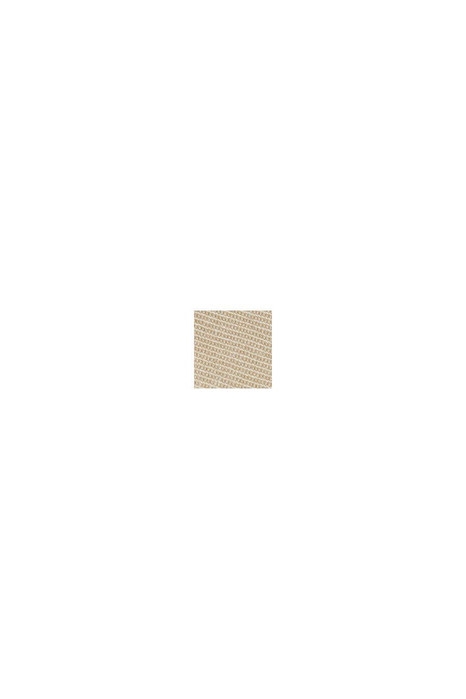 Chino stretch à teneur en coton biologique Pima, BEIGE, swatch