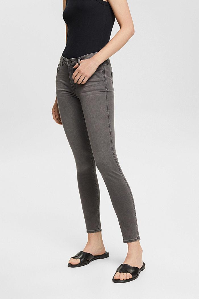 Pants denim Low Rise Skinny, GREY MEDIUM WASHED, detail image number 0