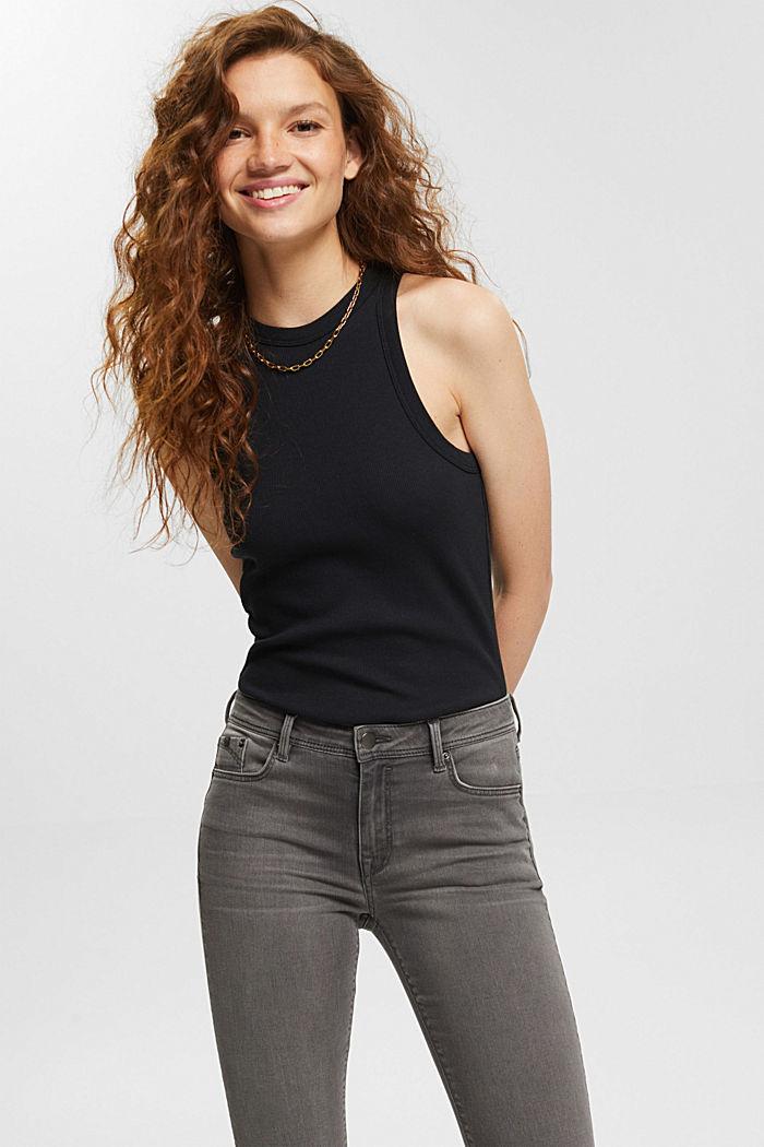Pants denim Low Rise Skinny, GREY MEDIUM WASHED, detail image number 6