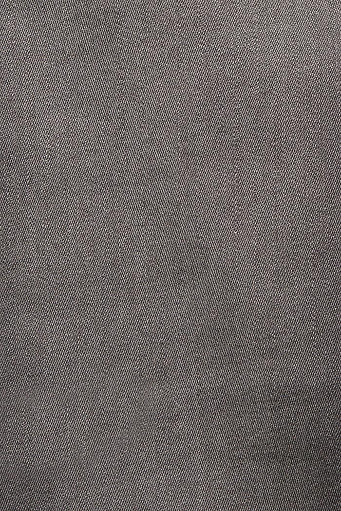 Pants denim Low Rise Skinny, GREY MEDIUM WASHED, detail image number 4