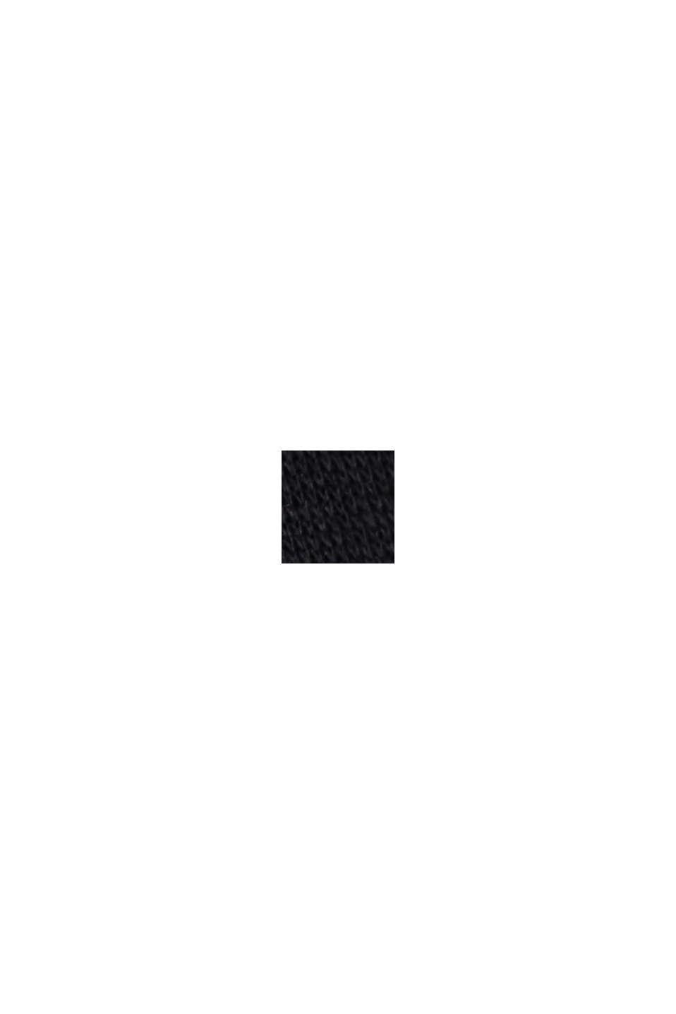 Spodnie joggingowe z mieszanki z bawełną ekologiczną, BLACK, swatch