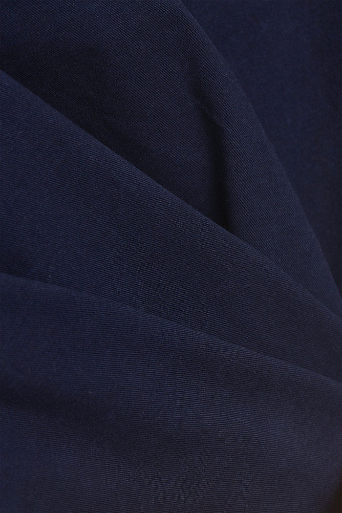 Chino shorts made of stretch pima organic cotton, NAVY, detail image number 4