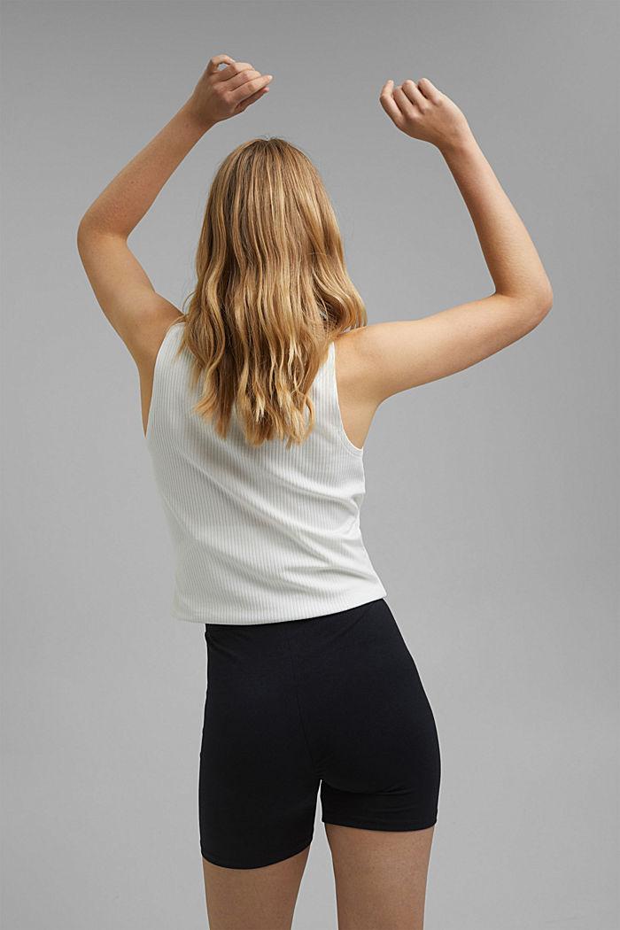 Jersey shorts made of organic cotton, BLACK, detail image number 3
