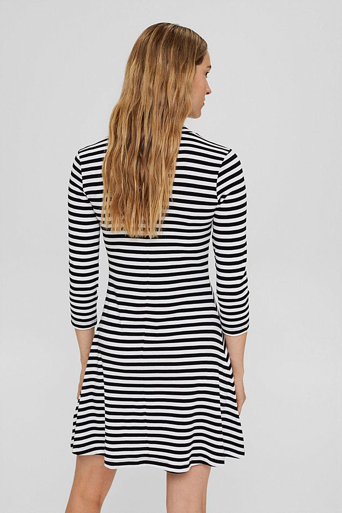 Jersey dress made of 100% organic cotton, BLACK, detail image number 2