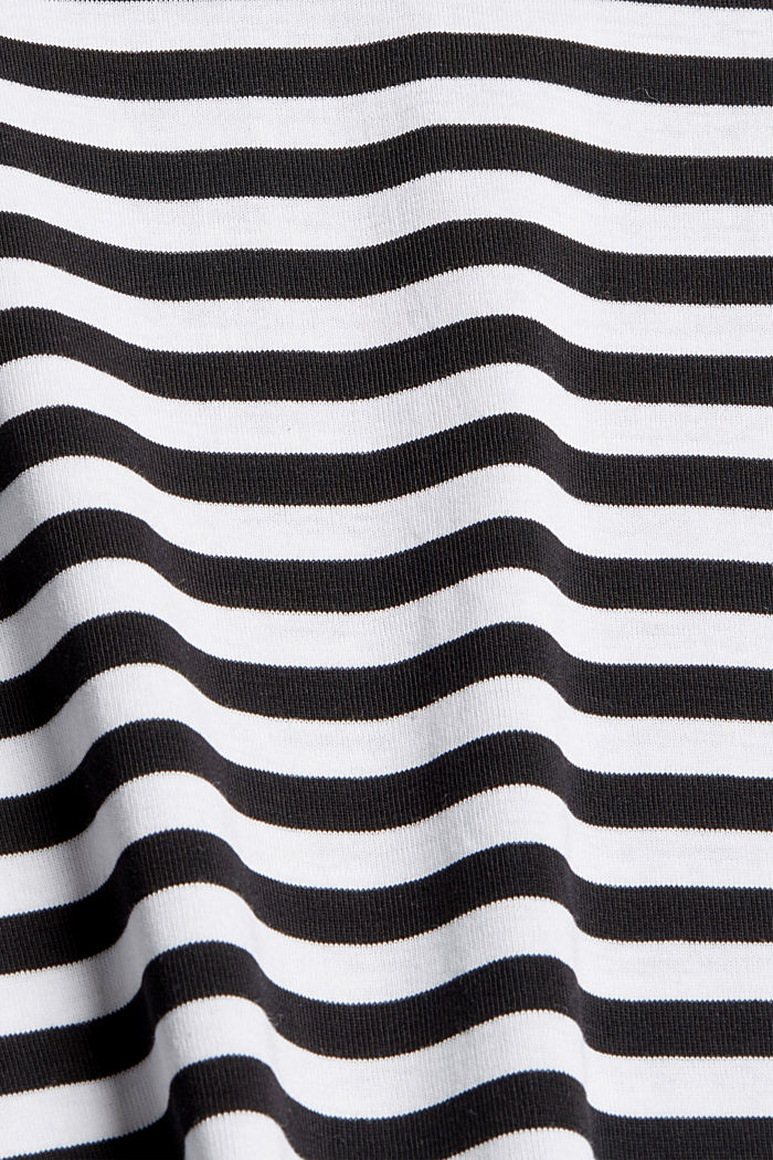 Jersey dress made of 100% organic cotton, BLACK, detail image number 4