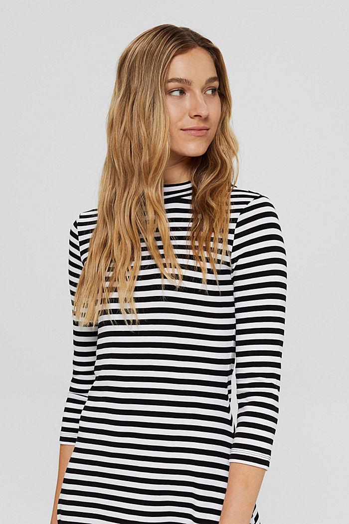 Jersey dress made of 100% organic cotton, BLACK, detail image number 5