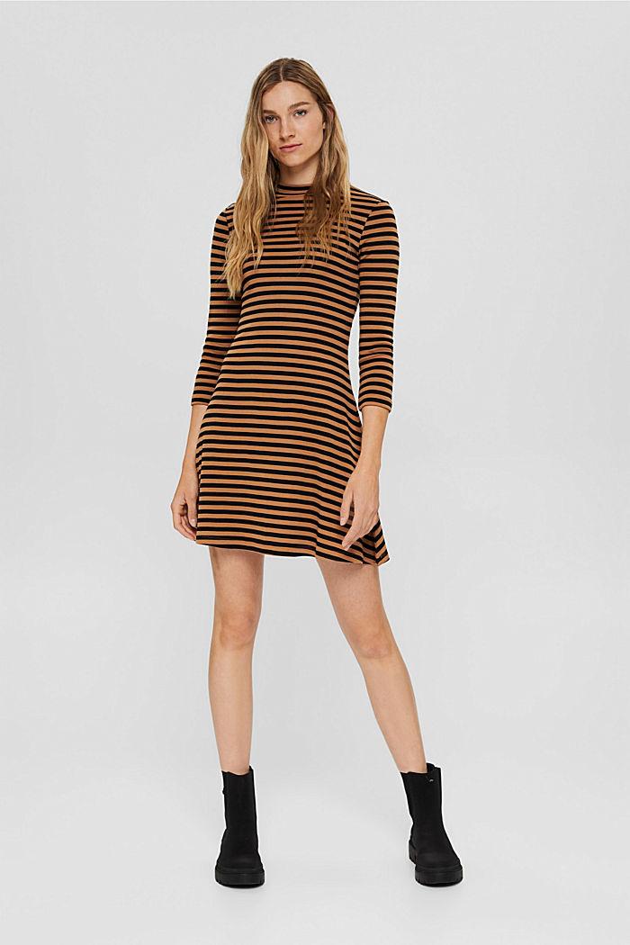 Sukienka z jerseyu ze 100% bawełny organicznej, BARK, detail image number 1