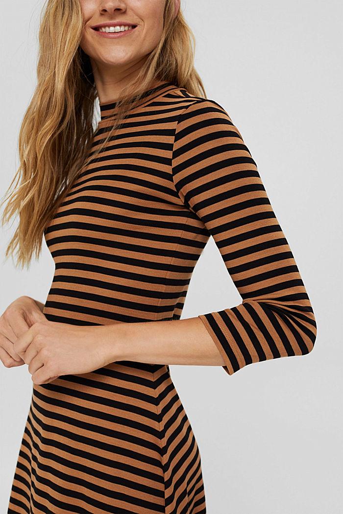 Sukienka z jerseyu ze 100% bawełny organicznej, BARK, detail image number 3