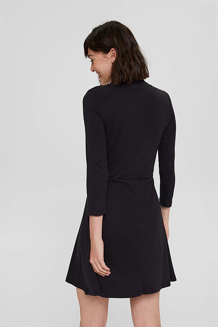 Robe en jersey, 100% coton biologique, BLACK, detail image number 2