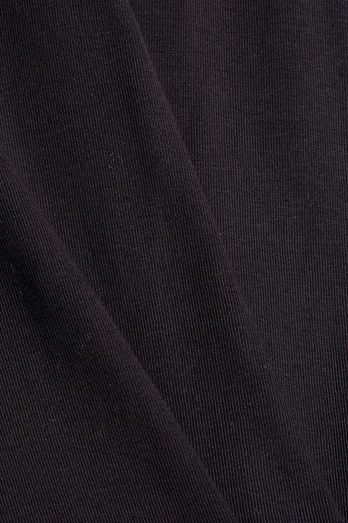 Robe en jersey, 100% coton biologique, BLACK, detail image number 4