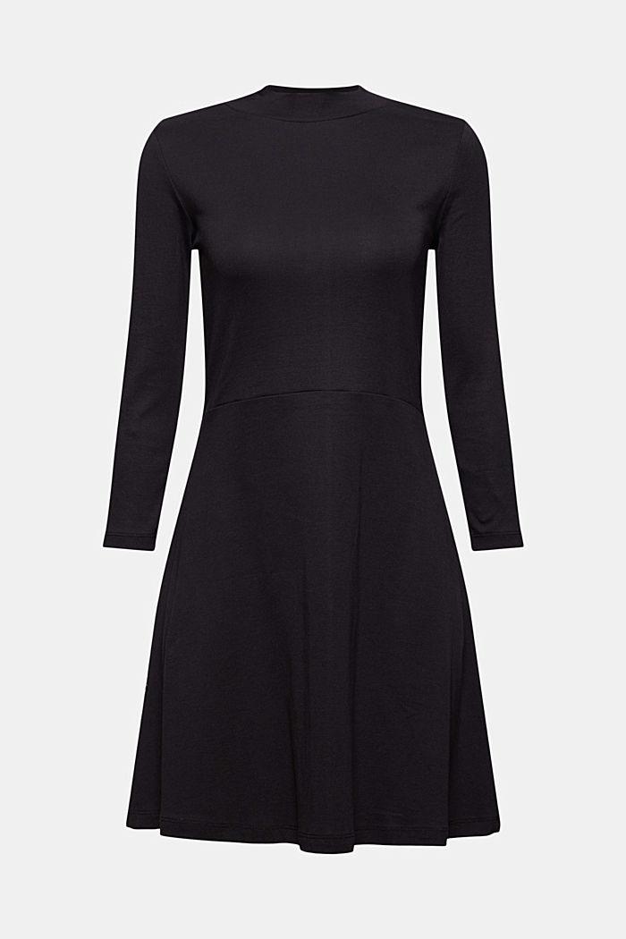 Robe en jersey, 100% coton biologique, BLACK, detail image number 5