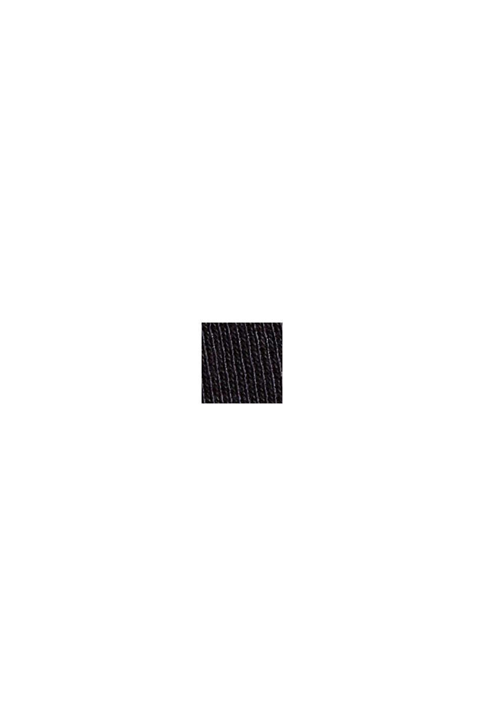 Jerseykleid aus 100% Organic Cotton, BLACK, swatch