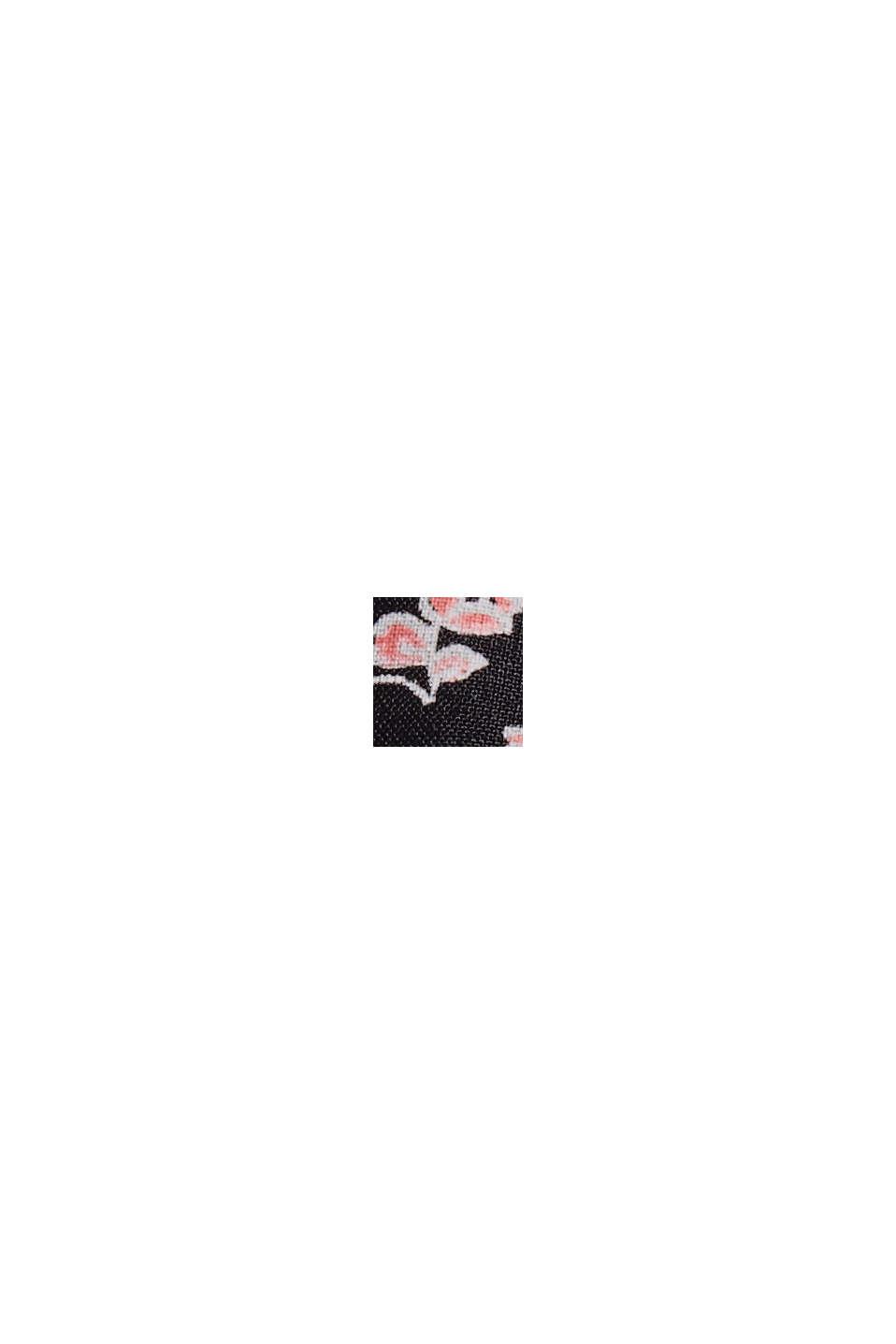 Blouse van 100% LENZING™ ECOVERO™, NEW BLACK, swatch