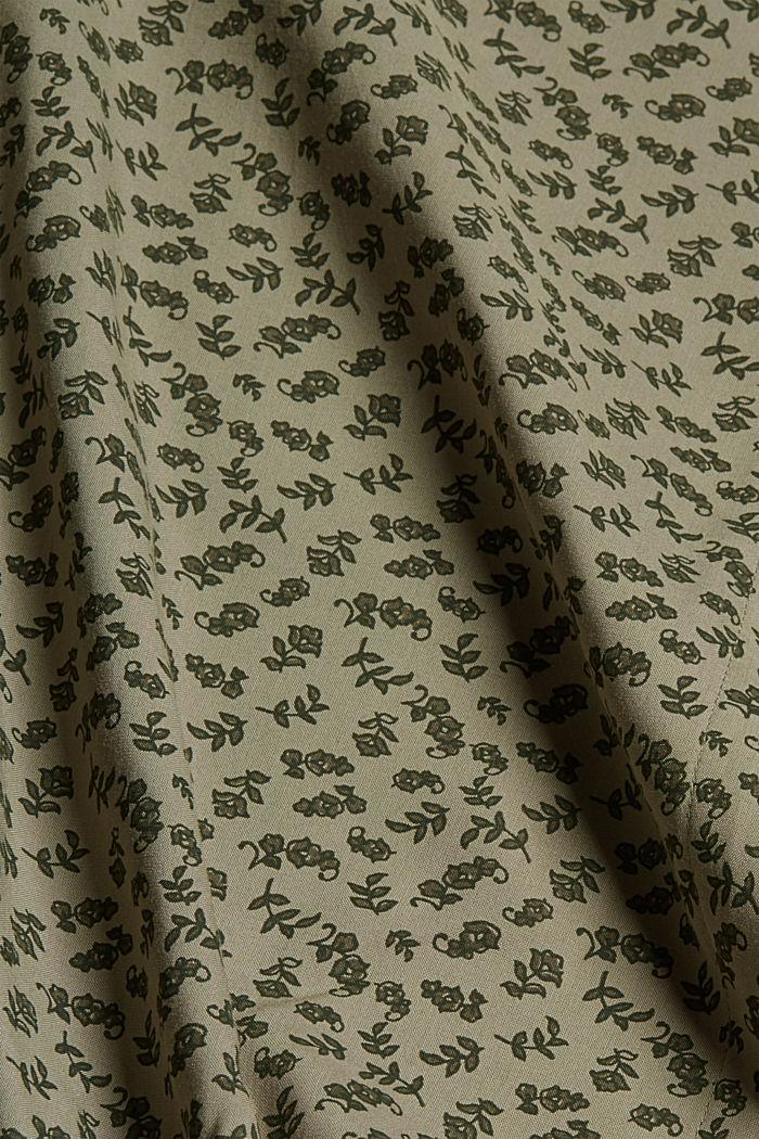 Blouse made of 100% LENZING™ ECOVERO™, LIGHT KHAKI, detail image number 4