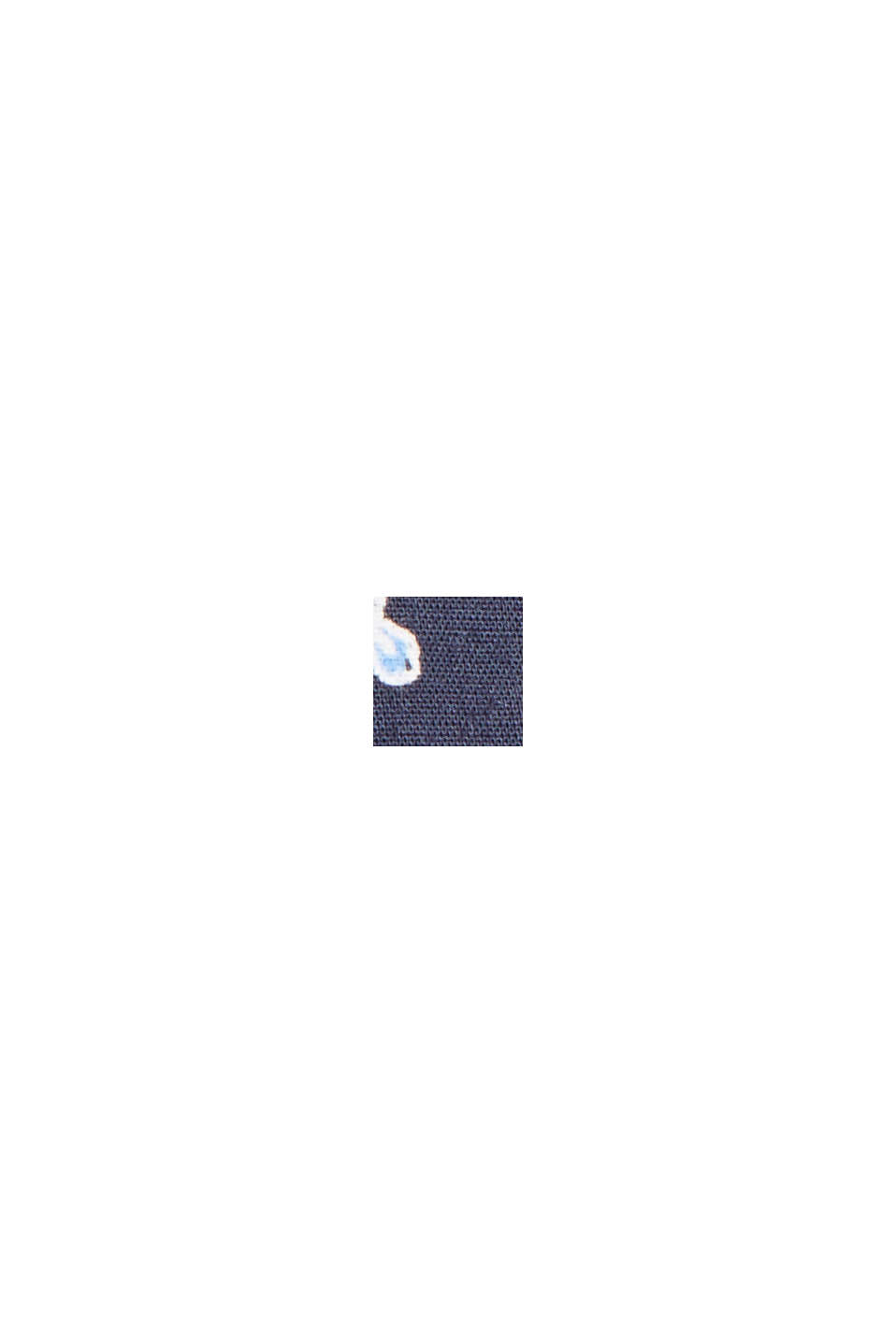 Blouse van 100% LENZING™ ECOVERO™, NAVY, swatch