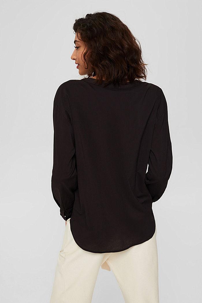 Pusero, jossa maljapääntie ja taskut, BLACK, detail image number 3