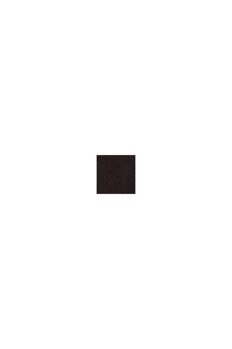 Pusero, jossa maljapääntie ja taskut, BLACK, swatch
