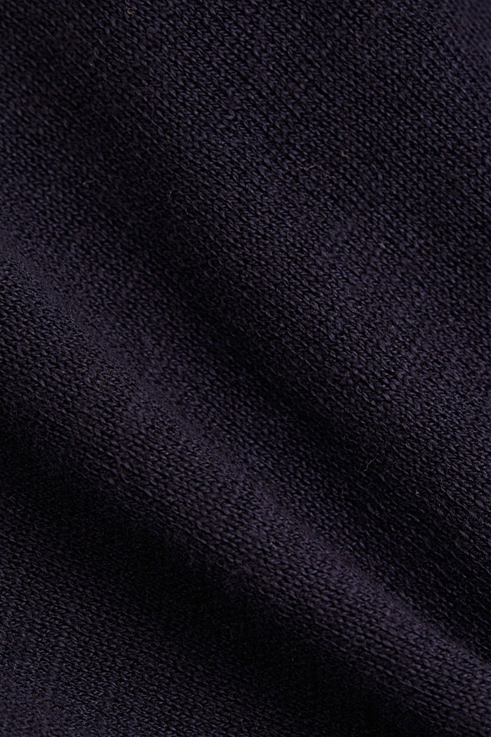 Hoodie made of 100% organic cotton, NAVY, detail image number 4