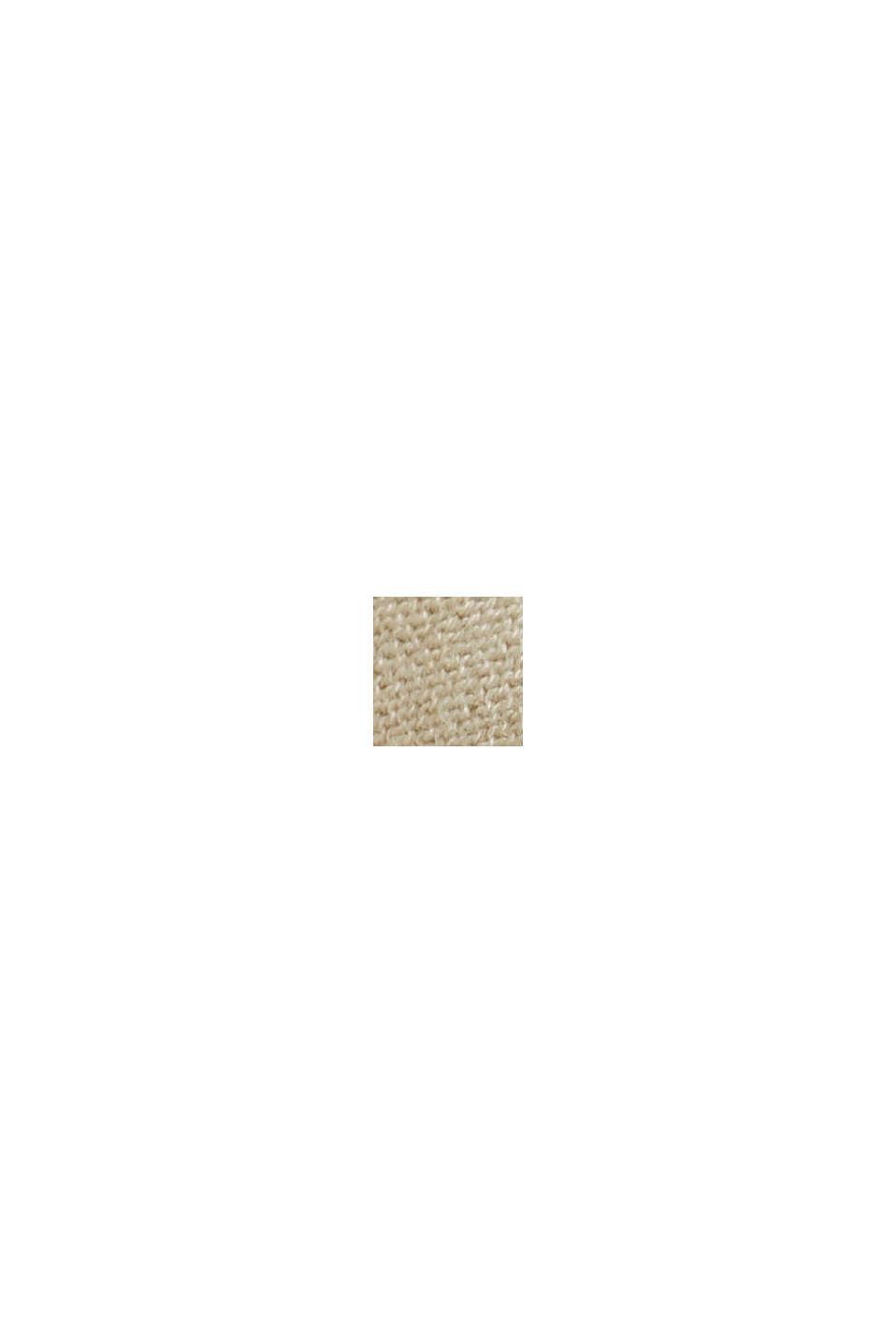 Offener Cardigan aus 100% Organic Cotton, BEIGE, swatch
