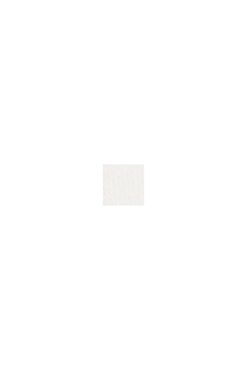 Sweat à capuche en coton biologique mélangé, OFF WHITE, swatch