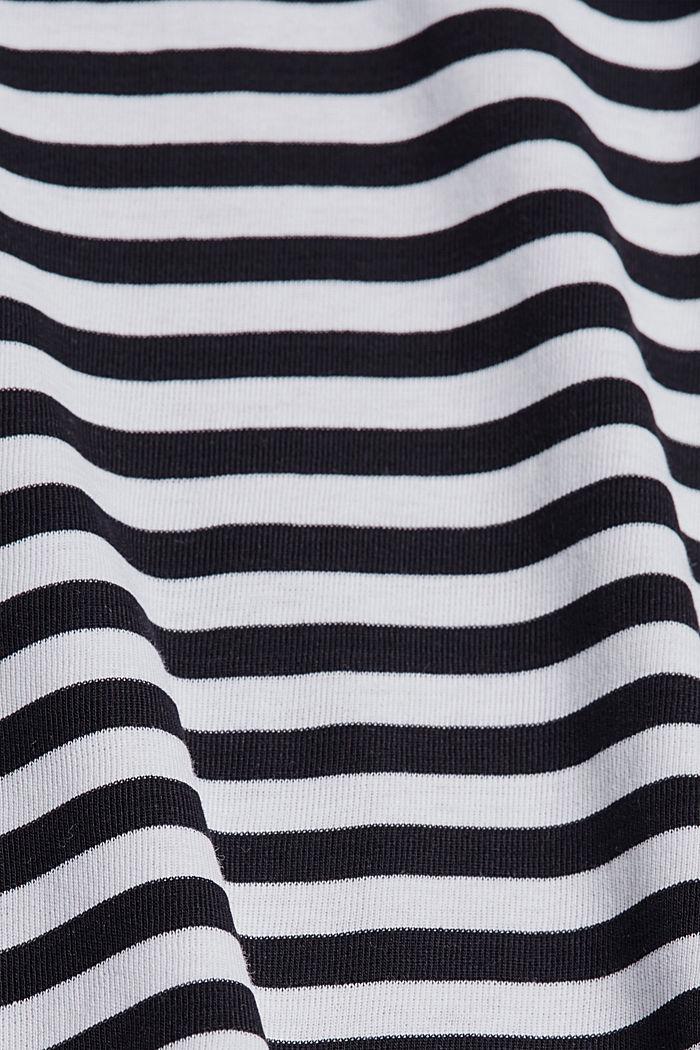T-shirt à manches longues et encolure bateau, BLACK, detail image number 4