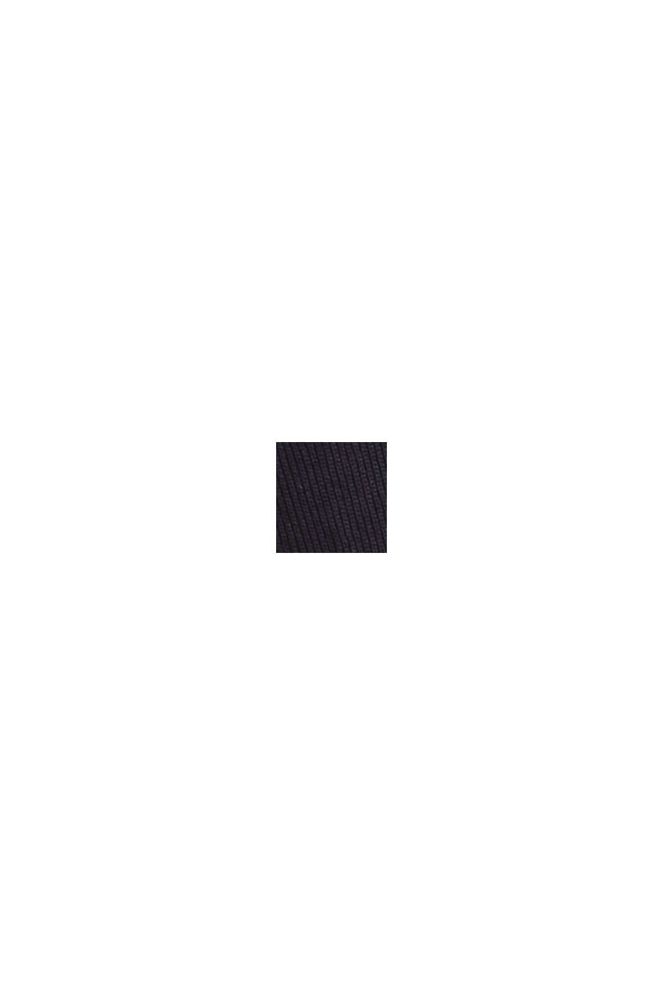 Camiseta de manga larga con cuello barco, NAVY, swatch