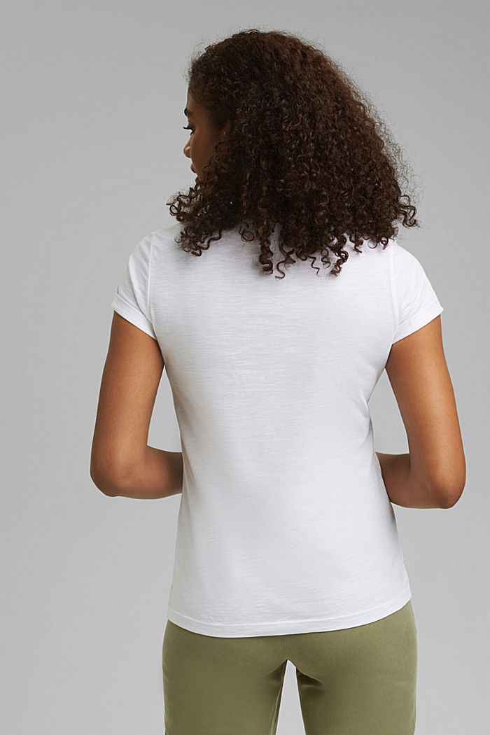 T-shirt made of 100% organic cotton, WHITE, detail image number 3