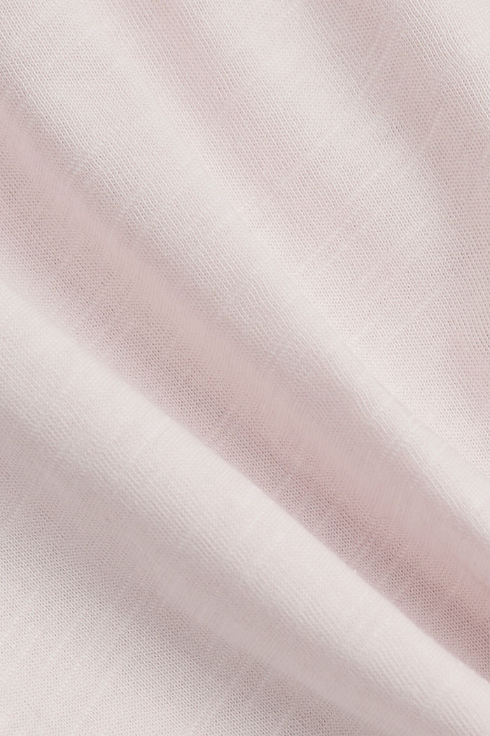 T-shirt made of 100% organic cotton, LIGHT PINK, detail image number 4