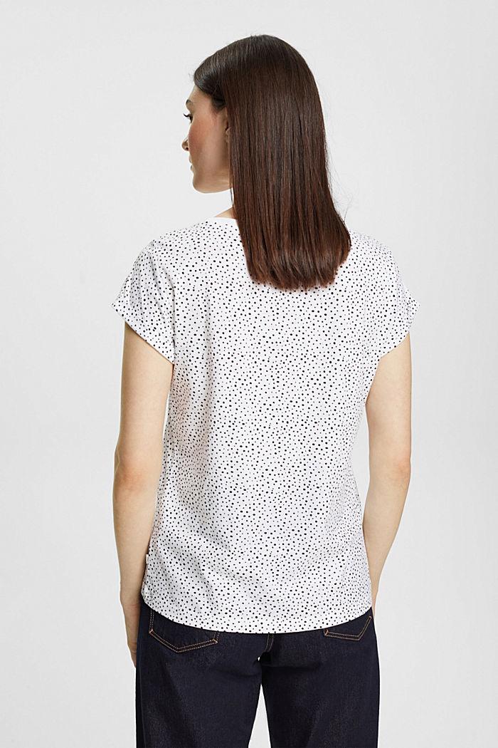 T-shirt van 100% organic cotton, WHITE, detail image number 3