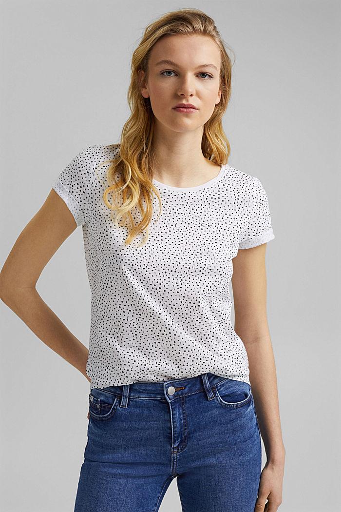 T-shirt van 100% organic cotton, WHITE, detail image number 5