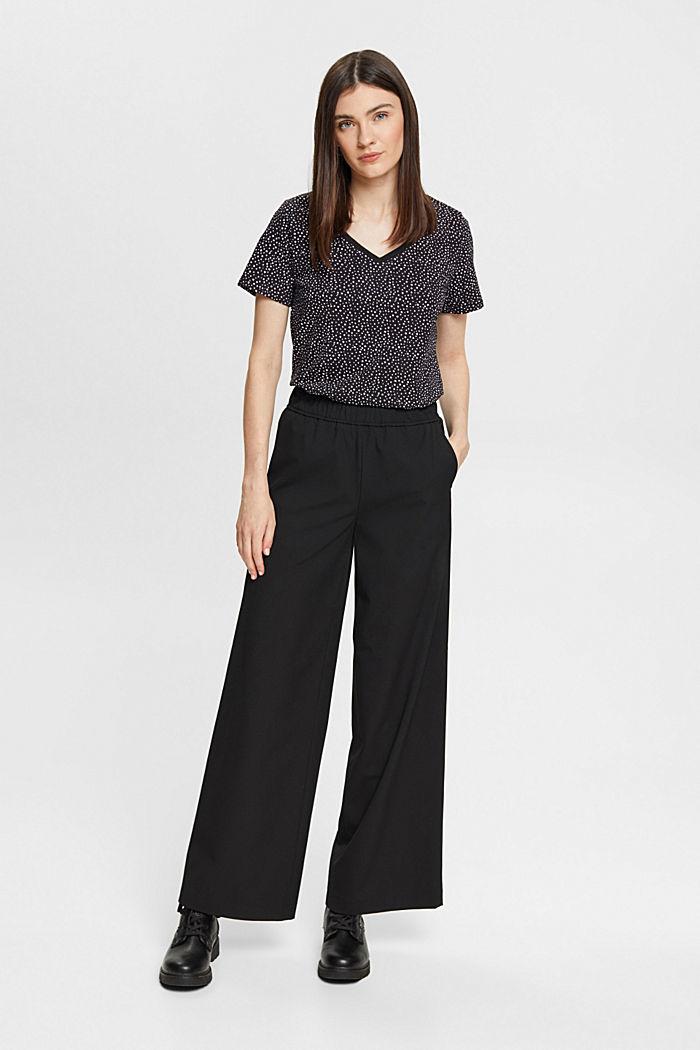 T-shirt made of 100% organic cotton, BLACK, detail image number 5