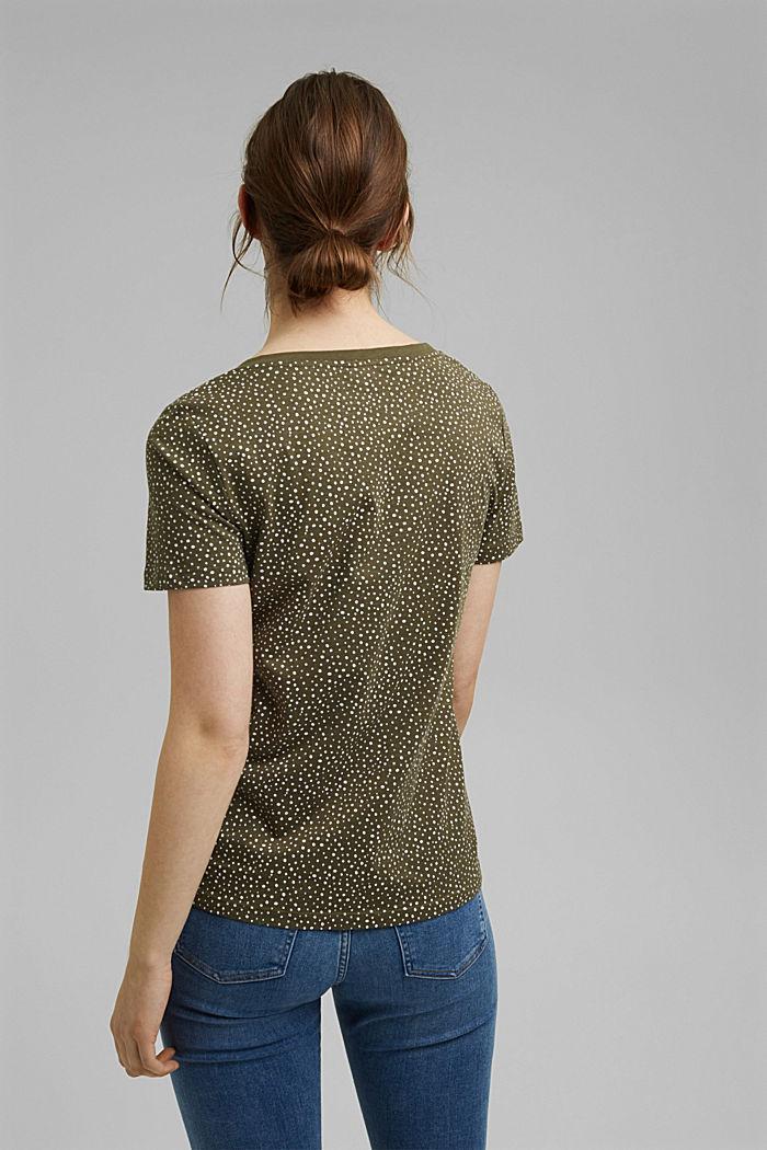 T-shirt made of 100% organic cotton, KHAKI GREEN, detail image number 3