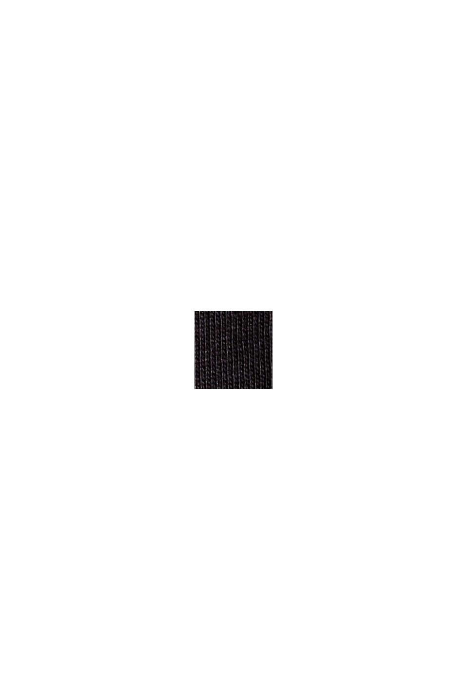 Camiseta de manga larga en 100% algodón ecológico, BLACK, swatch