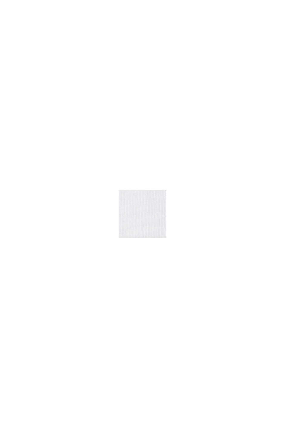 Camiseta de manga larga en 100% algodón ecológico, WHITE, swatch