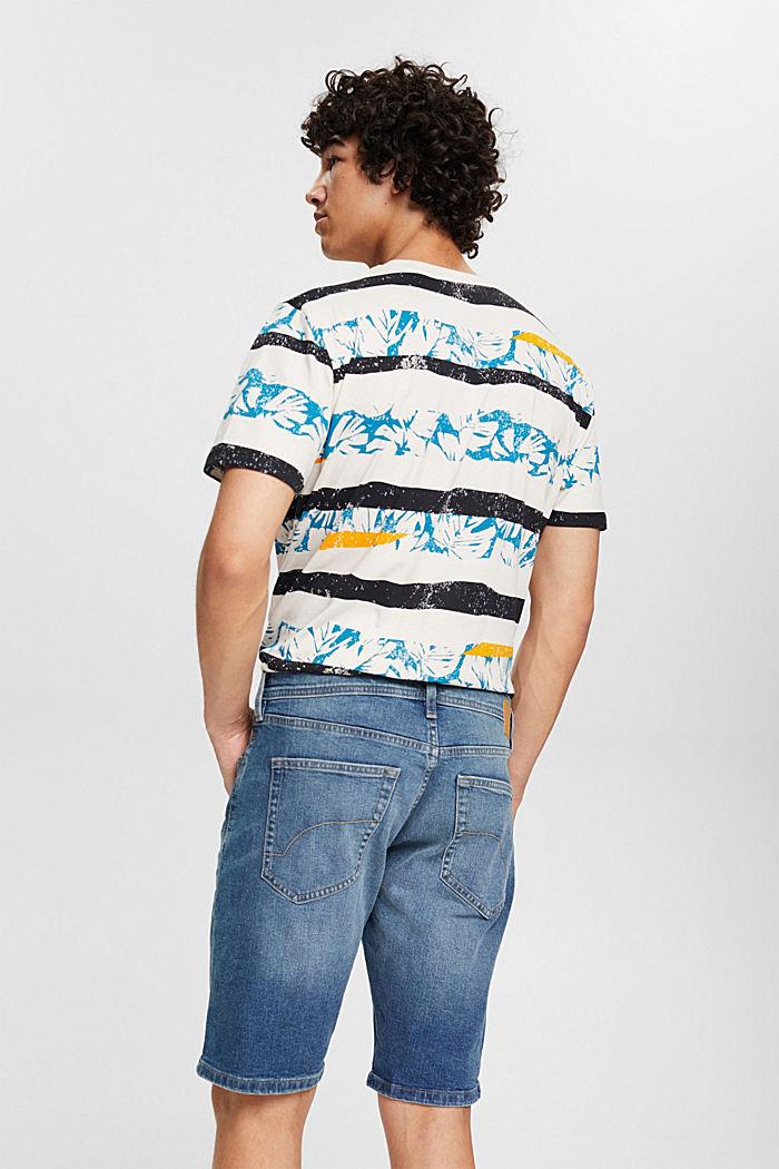 Jeans Shorts aus Organic Cotton, BLUE MEDIUM WASHED, detail image number 3