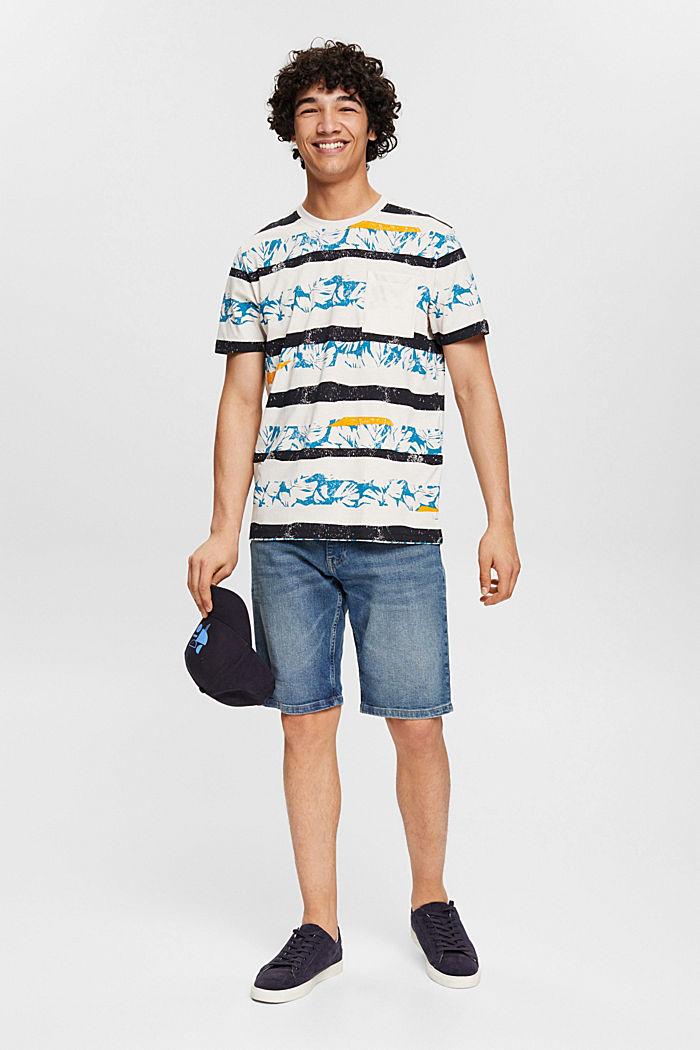 Jeans Shorts aus Organic Cotton, BLUE MEDIUM WASHED, detail image number 1
