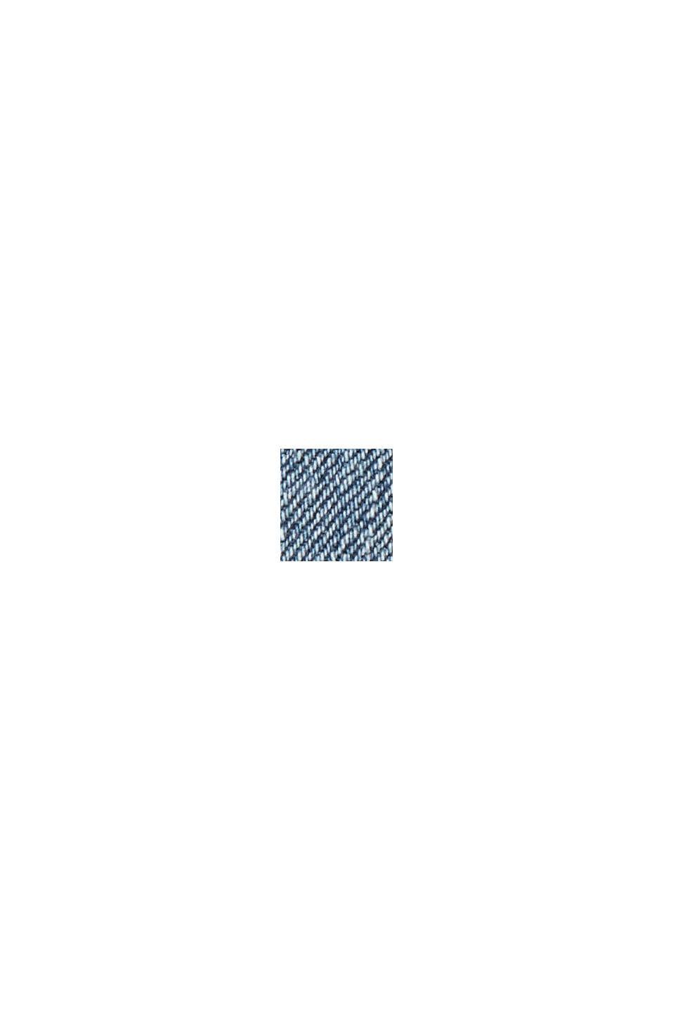 Farkkushortsit luomupuuvillaa, BLUE MEDIUM WASHED, swatch