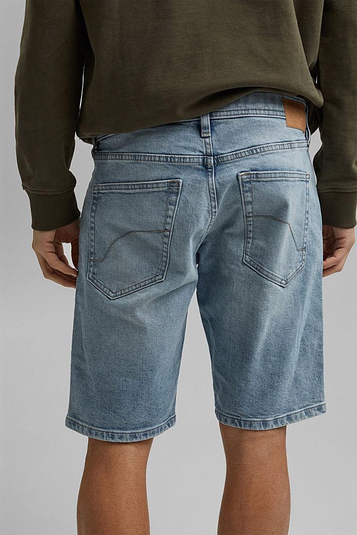 Jeans Shorts aus Organic Cotton, BLUE LIGHT WASHED, detail image number 5
