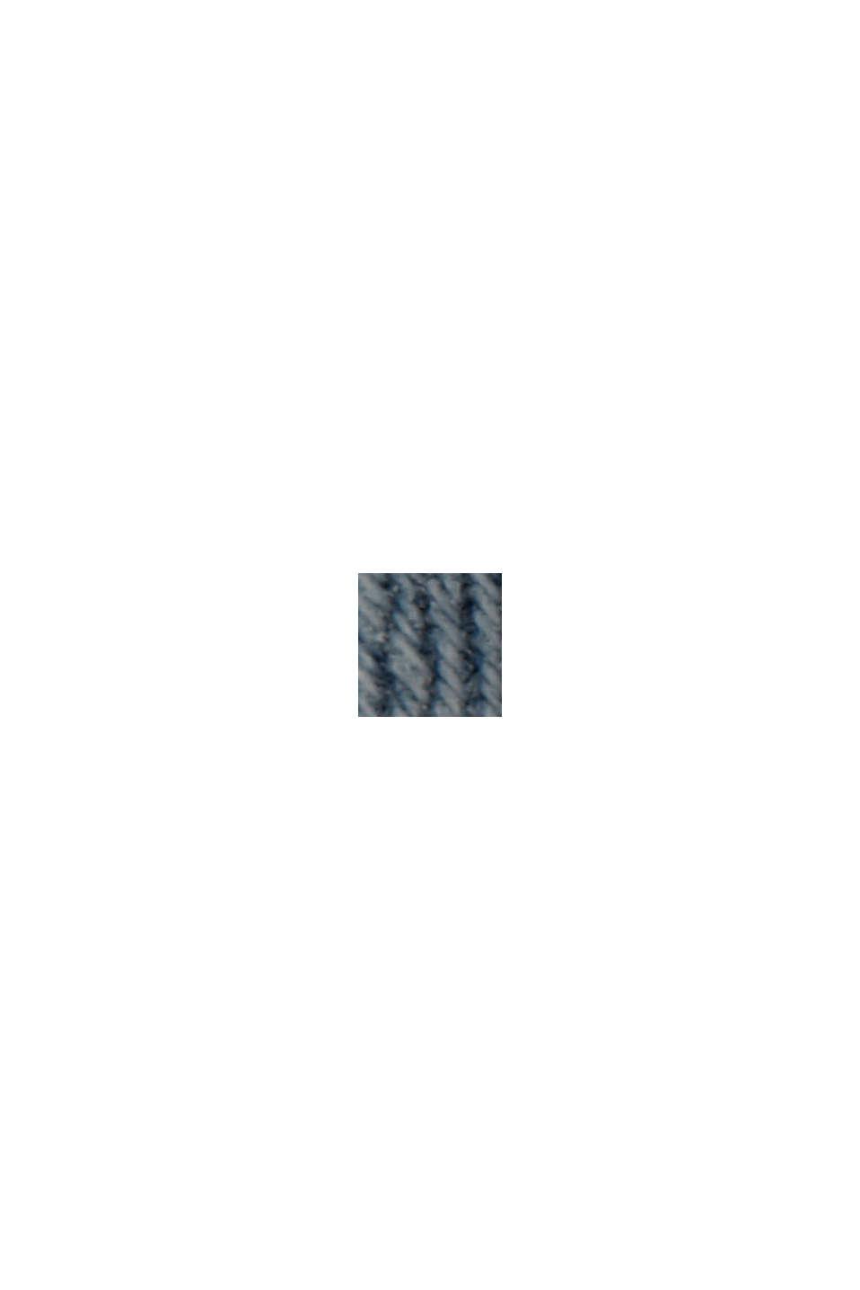 Farkkushortsit luomupuuvillaa, BLUE LIGHT WASHED, swatch